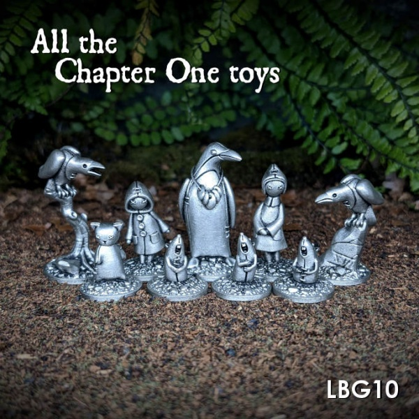 LBG10 All the Chapter One toys