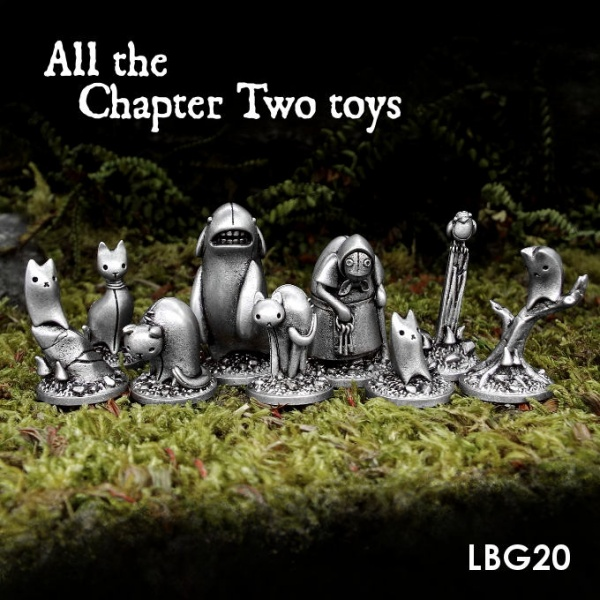 LBG20 All the Chapter Two toys